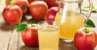 cuales son los beneficios del jugo de manzana
