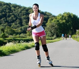 beneficios de andar en rollers