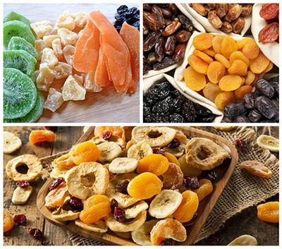 Beneficios de las frutas deshidratadas