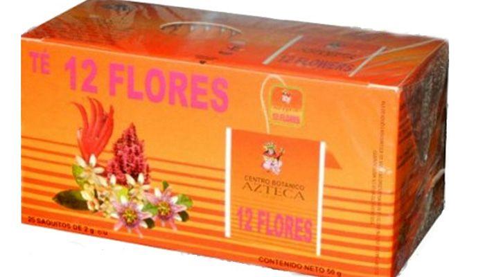para que sirve el te de 12 flores
