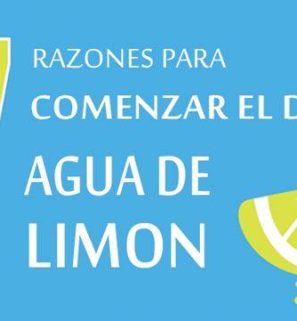 7 razones para comenzar el dia con limonada