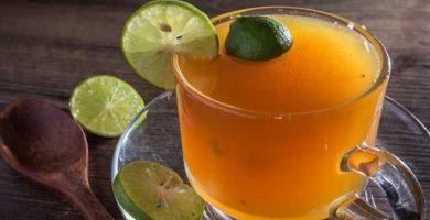 Que efecto causa la miel y el jugo de limon
